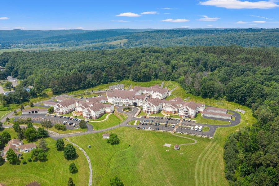 Appleridge Senior Living - Aerial View of Campus