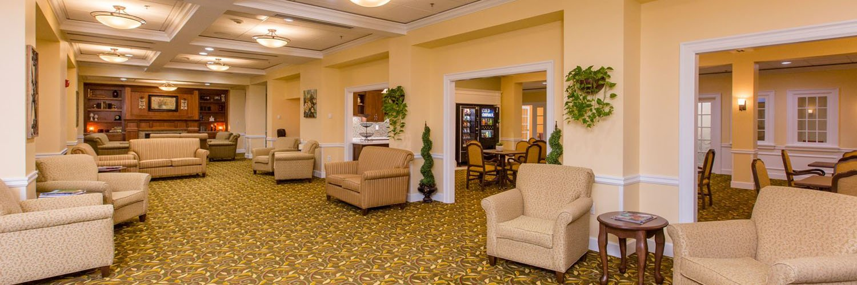 Appleridge Senior Living - Beautiful Common Spaces